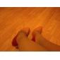 Pantofi pentru femei - Piele Originală - Toc Stiletto - Tocuri / Vârf Ascuțit - Pantofi cu Toc - Rochie - Negru / Maro / Roșu / Orange