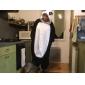 Kigurumi Pijamale Panda Leotard/Onesie Festival/Sărbătoare Sleepwear Pentru Animale Halloween Negru Lână polară Kigurumi Pentru Unisex