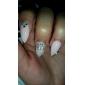 10st pärla krona 3d strass legering nail art dekoration
