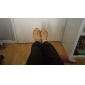 Anpassningsbar - Dansskor (Svart/Rosa/Röd/Multifärgad/Fuchsia/Andra) - Dam - Latin/Dans sneakers