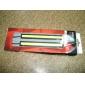 2 st Set Waterproof Aluminium High Power 6W 6000K Xenon Vit Slim COB LED Daytime Running Light Lamp