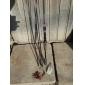 Canne à lancer / Canne à pêche Canne à lancer Carbone 210 M Pêche au leurre / Pêche de la perche Barre Violet-LEITING®