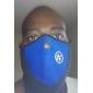 Ski Masque de protection contre la pollution Femme Homme Unisexe Garder au chaud Pare-vent Doublure Polaire Résistant à la poussière
