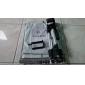 mini aluminiumstativ stativ hållare för mobil mobiltelefon fiske ljus och kamera med väska