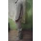 Bărbați activewear Set Plus Size Casul/Zilnic Mată Bumbac Manșon Lung