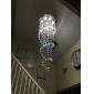 50W Lampe suspendue ,  Contemporain Chrome Fonctionnalité for Cristal Cristal Salle de séjour Chambre à coucher Salle à manger