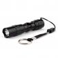Police - LED-ficklampa i ask med ett läge (50 LM, 1xAA, svart)