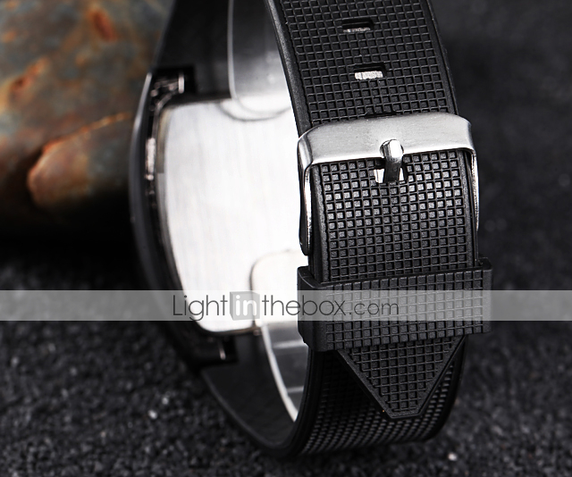 Men's Sports Speedometer Style LED Watch