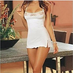 ladies lace lingerie babydolls sleepwear lingerie set with g-string nightdress dress rose 38 eu Lightinthebox