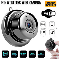 WAZA 2.1mm Lens 720P Cloud Storage WIFI Night Vision Two-way Audio Smart Indoor Home Security IP Cam