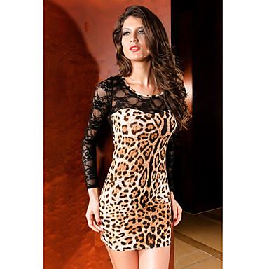 Mejores Vestido Camisero Animal Print Leopardo
