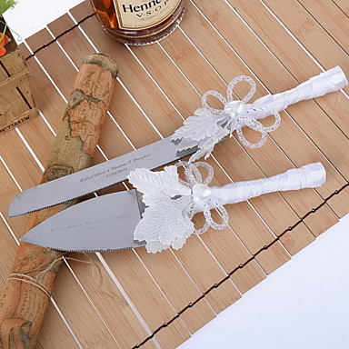wedding cake serving set personalized serving sets wedding cake knife personalized leaves design 24304