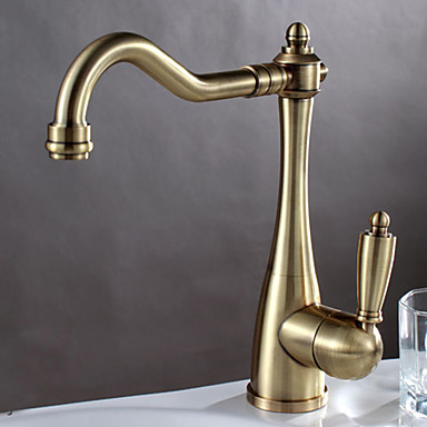 brushed bronze kitchen faucet shengbaier centerset deck mounted nickel brushed kitchen 16505
