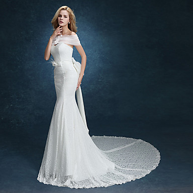 Trumpet / Mermaid Wedding Dress Two-In-One Wedding Dresses ...