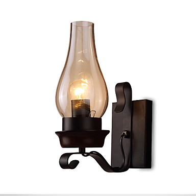 bedroom sconce lighting retro rustic nordic glass wall lamp bedroom bedside wall 10619