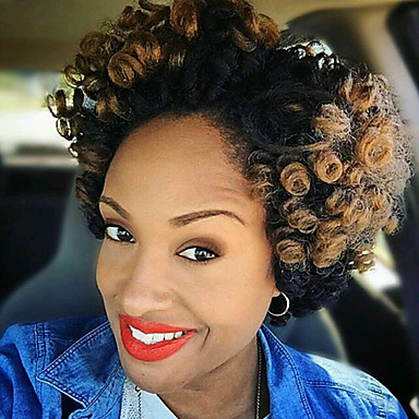 crochet kanekalon hair styles crochet curly braids hair extensions 100 kanekalon hair 1289