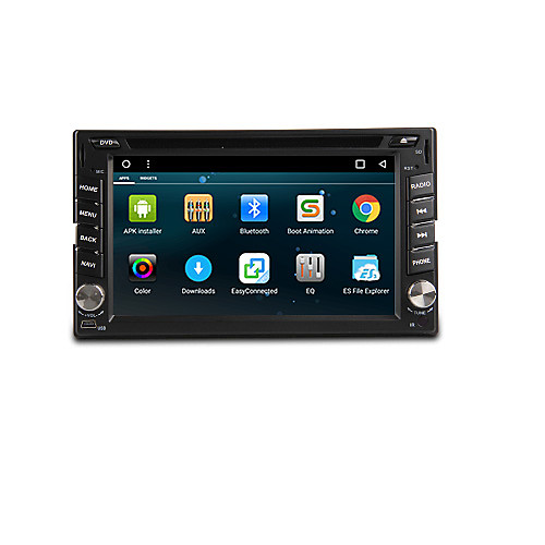 Android 6.0 6.2-inch Car DVD Player with Quad-Core Contex A9 1.6GHz,Radio,,WIFI,4G,GPS,RDS