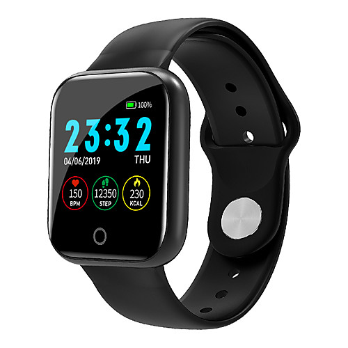 i5 Unisex Smart Wristbands Android iOS Bluetooth Touch Screen Heart Rate Monitor Blood Pressure Measurement Sports Calories Burned Pedometer Call Reminder Sleep Tracker Sedentary Reminder Find My