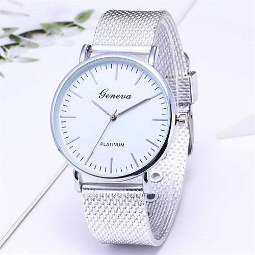 Women's Quartz Watches Fashion Silver Rose Gold Alloy Chinese Quartz GoldenBlack GoldenWhite Silver Adorable 1 pc Analog One Year Battery Life