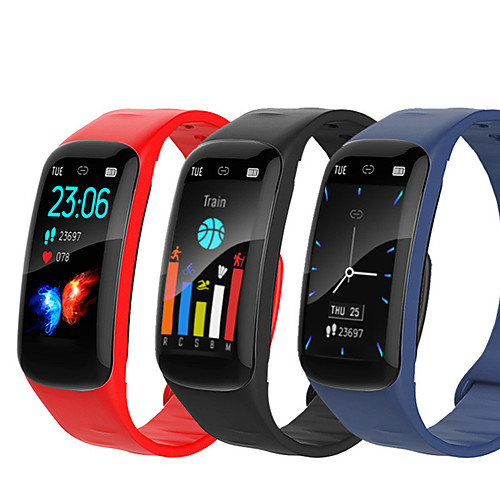 Spovan H01 Unisex Smartwatch Android iOS Bluetooth Waterproof Heart Rate Monitor Blood Pressure Measurement Sports Calories Burned ECGPPG Timer Pedometer Activity Tracker Sedentary Reminder