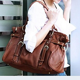 Women's Bags Cowhide Tote Character Brown 3804527