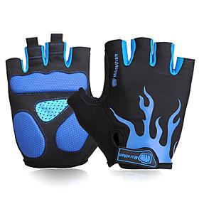 FJQXZ Sports Gloves Bike Gloves / Cycling Gloves Keep Warm Windproof Moisture Permeability Wearable Breathable Wearproof Anti-skidding 4788436