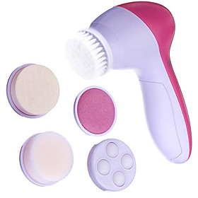 Full Body Face Massager Electric Face Scrubber Cleaning Rolling Wrinkle Reduction Cuticle Removal Anti-Aging Eye Pouch, Dark Circles 308333