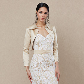 Satin Wedding / Party / Evening Women's Wrap With Shrugs 6145315