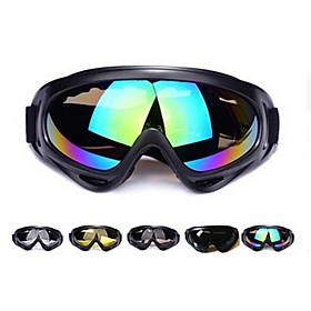 2017 Motorcycle Protective Glasses Outdoor Sports Windproof Dustproof Eye Glasses Ski Snowboard Goggles Motocross Riot Control 6416257