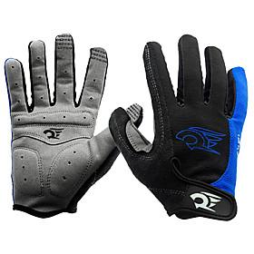 WEST BIKING Sports Gloves Bike Gloves / Cycling Gloves Windproof / Waterproof / Keep Warm Full finger Gloves Spandex / Nylon Cycling / Bike / Fitness Men's 2521651