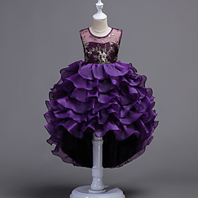 Kids Girls' Solid Colored Sleeveless Dress 6852463