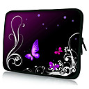 Dark Butterfly Neoprene Laptop Sleeve Case for 1015 iPad MacBook Dell HP Acer Samsung