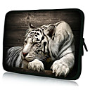 Resting Tiger Neoprene Laptop Sleeve Case for 1015 iPad MacBook Dell HP Acer Samsung