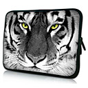 Tiger Pattern Neoprene Laptop Sleeve Case for 1015 iPad MacBook Dell HP Acer Samsung
