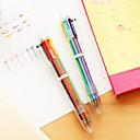Image of Penna Penna Penne a sfera Penna, Plastica Rosso Nero Blu Giallo Oro Verde Colori inchiostro For Materiale scolastico Attrezzature da