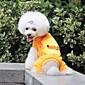 Mode für Haustiere Joker gelbe Ente Fuß vier Kleidungsstücke für Haustiere Hunde (verschiedene Größen) 6160