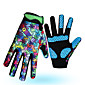 Sports Gloves Bike Gloves / Cycling Gloves / Ski Gloves / Touch Gloves Windproof / Keep Warm / Quick Dry Full finger Gloves Synthetic Textile Fibres / Silicone / Lycra Ski / Snowboard / Leisure 3204