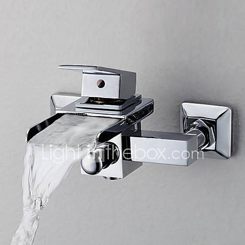 bathroom sinks faucets contemporary waterfall tub faucet wall mount 161080 2016 11478