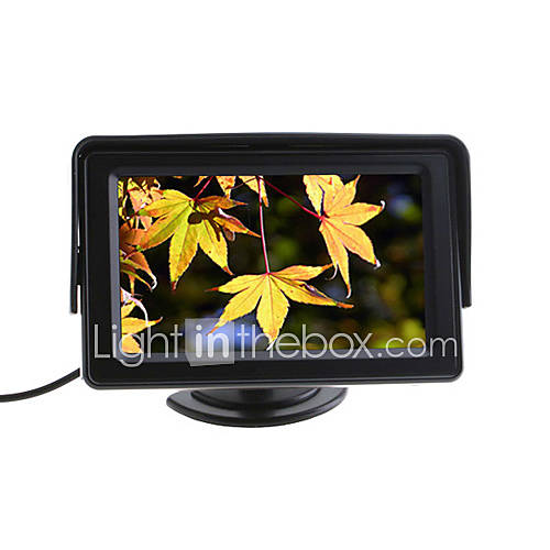 4.3 Inch TFT LCD Color Car Rearview Monitor for Camera DVD VCR