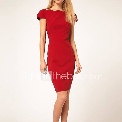 Womens Sexy Fitted Backless Dresses