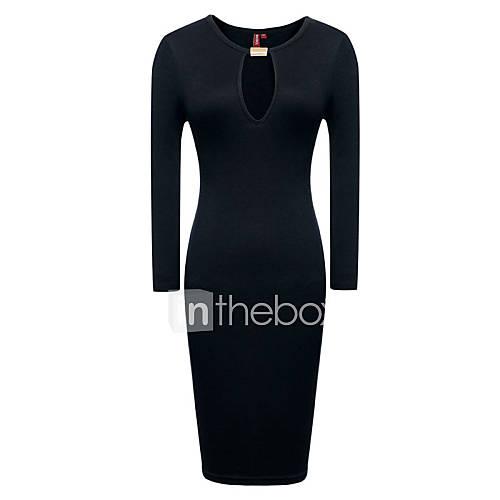 MS Black Sexy Slim Fit Dress