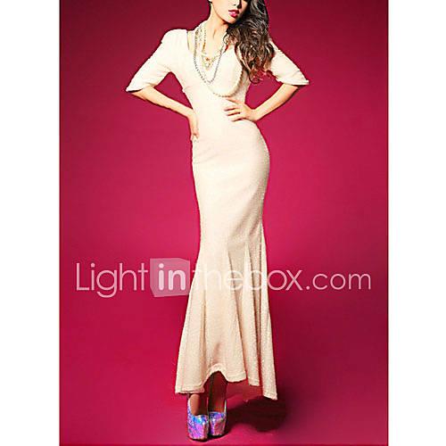 Zhulifang Womens Sexy Glitter Backless Dress