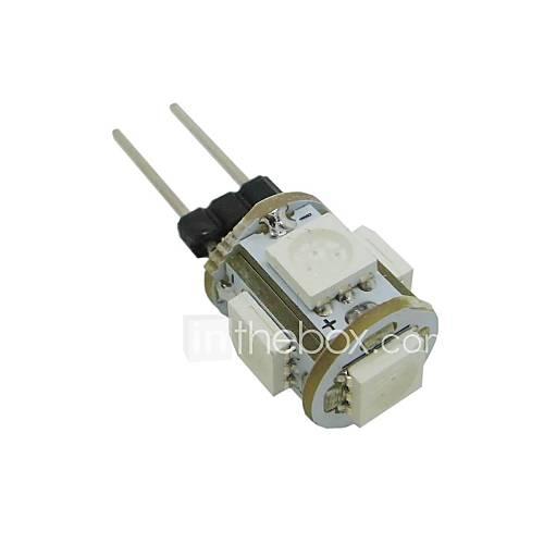 0.5W G4 Bombillas LED de Mazorca T 5 SMD 5050 35-45 lm Blanco Cálido Blanco Fresco Azul Verde K DC 12 V