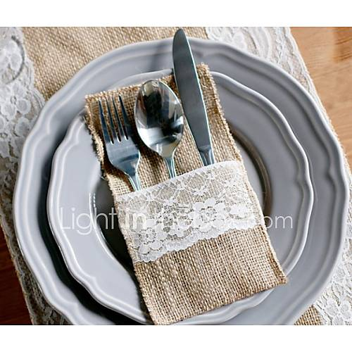 cake bags wedding serving sets wedding cake knife cutlery pouch flatware 2175