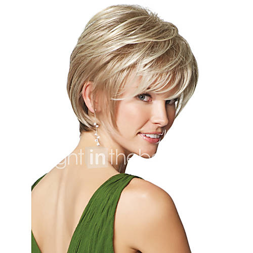 short layered haircut high quality capless wavy mono top human 9806 | lwnrqv1431684660449