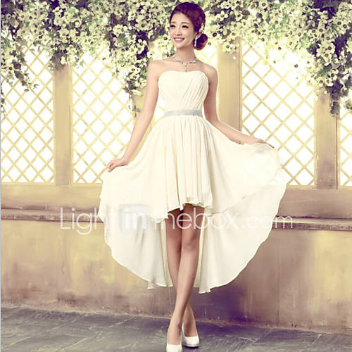 wedding ideas for bridesmaids asymmetrical tulle lace up bridesmaid dress a line 27931