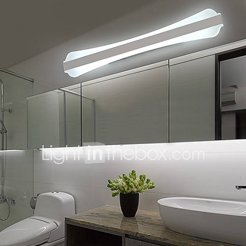 led wall sconces bathroom lighting modern contemporary 12457
