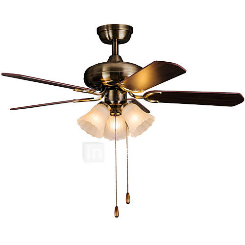 kitchen fan light fixtures maishang 174 retro bar iron ceiling fans 3 light for kitchen 4754