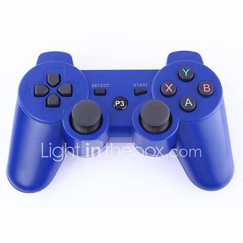 -Dual Shock 3 controlador inalámbrico bluetooth para ps3 (negro)