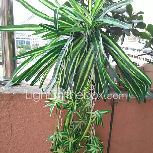 1 1 Rama Poliéster / Plástico Plantas / Otros Cesta de Flores Flores Artificiales 26.771inch/68cm